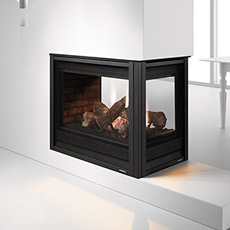 Pier 36TR See Through Direct Vent Gas Fireplace