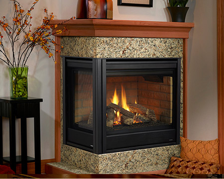 Heatilator NOVUS Direct Vent or BVent Gas Fireplace NBVNDV by