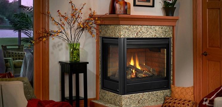 Heatilator Corner Direct Vent Gas Fireplace Corner 36 By