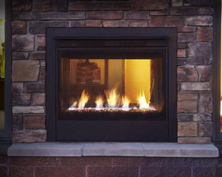 Heatilator Twilight Modern Indoor-Outdoor Gas Fireplace TWILIGHT ...