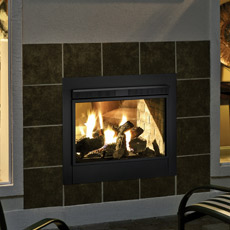 Twilight 2 Indoor/Outdoor Gas Fireplace