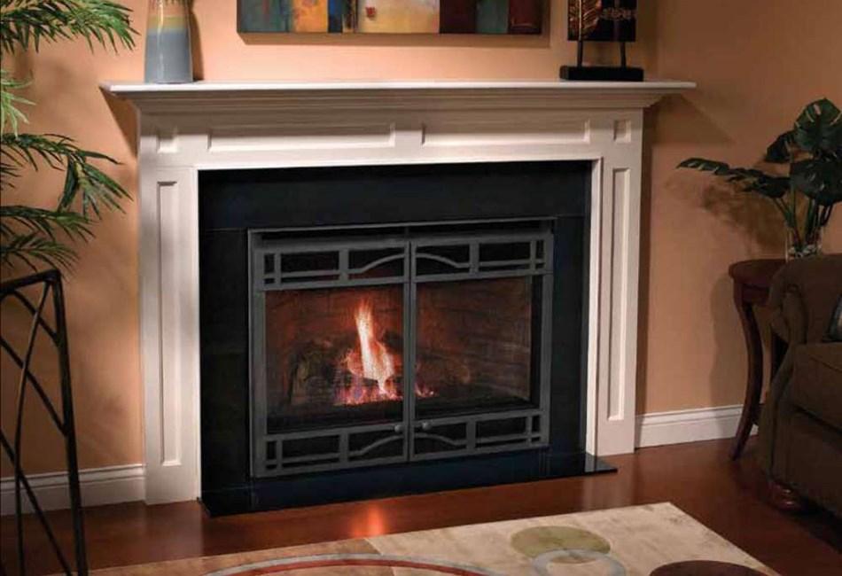 Heatilator Novus Direct Vent Or B Vent Gas Fireplace Nbv