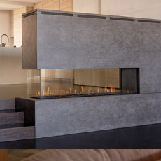 Ortal Space Creator 150 Direct Vent Fireplace