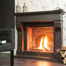 Ortal Traditional 110 Direct Vent Fireplace