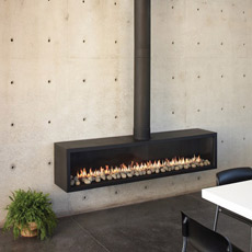Ortal Stand Alone 150 Direct Vent Fireplace