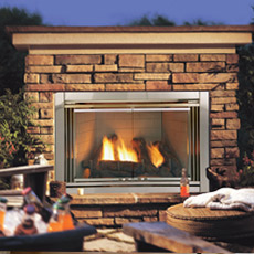 Dakota Outdoor Gas Fireplace