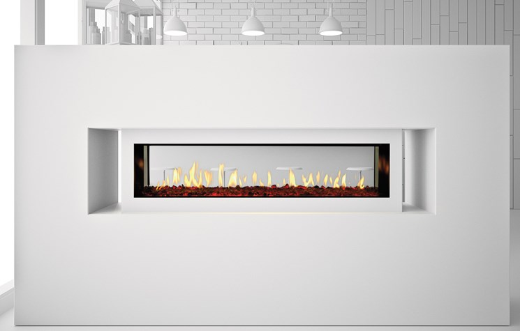Primo ST Series - Direct Vent Gas Fireplace