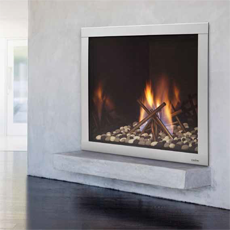 "LUX 42"" - Direct Vent Gas Fireplace"
