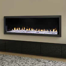 "RED Series 60"" - Direct Vent Gas Fireplace"