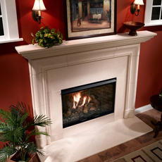Heatilator Reveal B-Vent Gas Fireplace