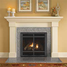 Slimline SL550TR-TRS - Direct Vent Gas Fireplace
